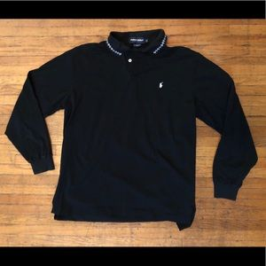 Polo Golf Long Sleeve Pima Cotton Polo, Large